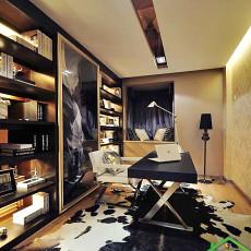 现代书房设计效果图大全图片