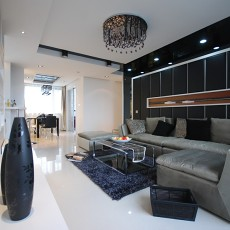 现代家居客厅装修效果图欣赏