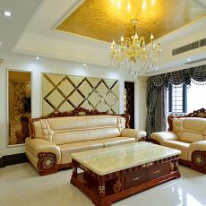 现代欧式家装客厅效果图