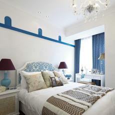地中海风格家装卧室设计效果图