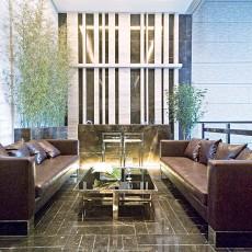 时尚现代家装客厅设计效果图