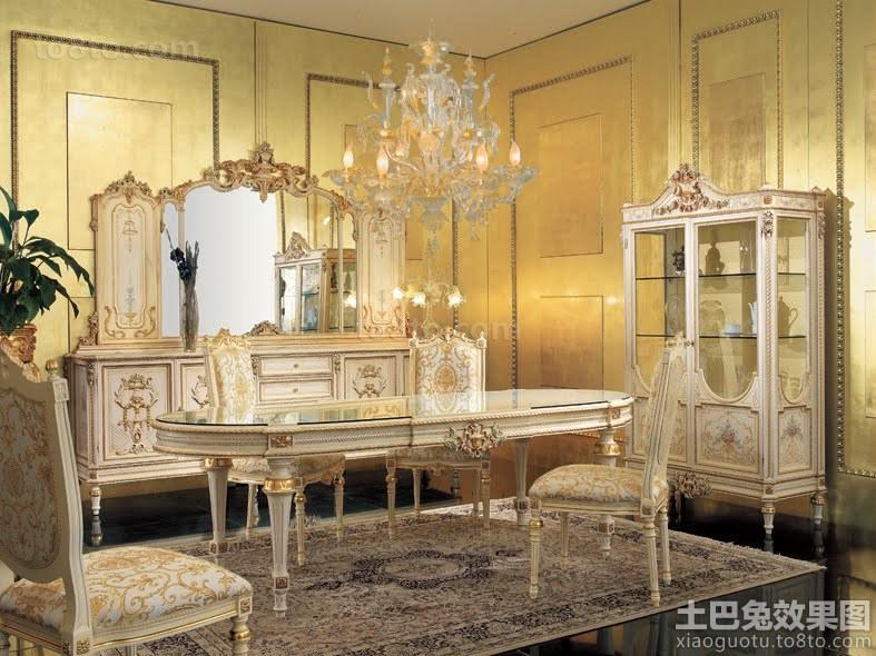 巴洛克风格家具设计