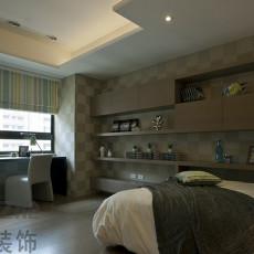 15平米现代风格次卧室装修效果图