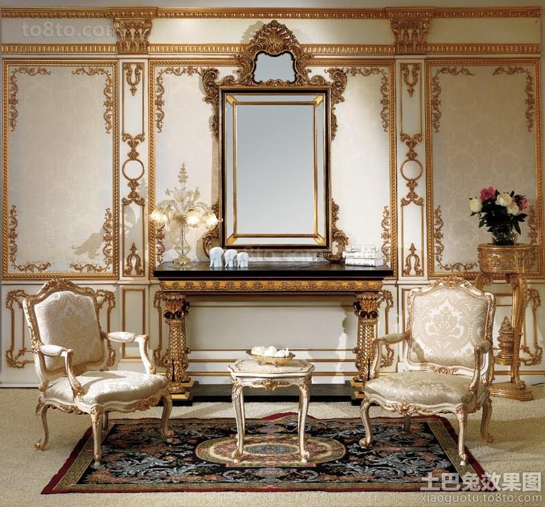 巴洛克风格室内设计图片