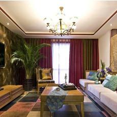 2018东南亚小户型客厅效果图片欣赏