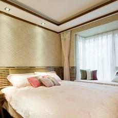 东南亚温馨卧室装修效果图2014