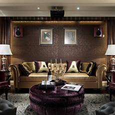 现代欧式风格客厅装饰效果图