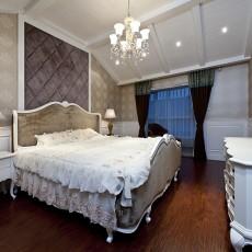 热门面积88平欧式二居卧室实景图片