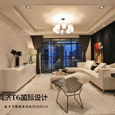 2018精选81平方二居客厅现代装修效果图