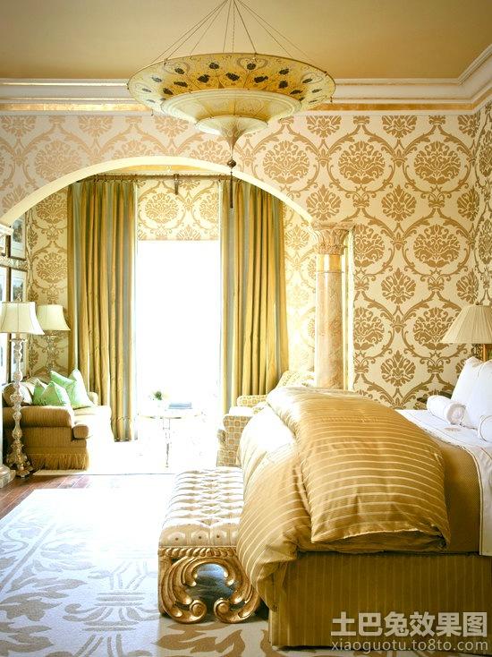 巴洛克风格装修卧室图片