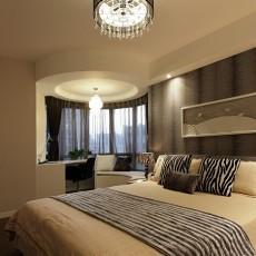 现代简约家装卧室效果图