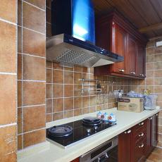 美式风格厨房装修效果图欣赏