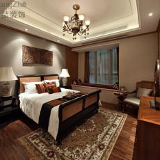 古典东南亚风格卧室装修效果图