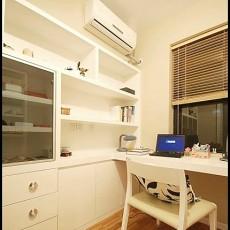 白色简约风格书房设计