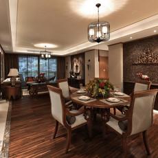 东南亚风格装修餐厅效果图