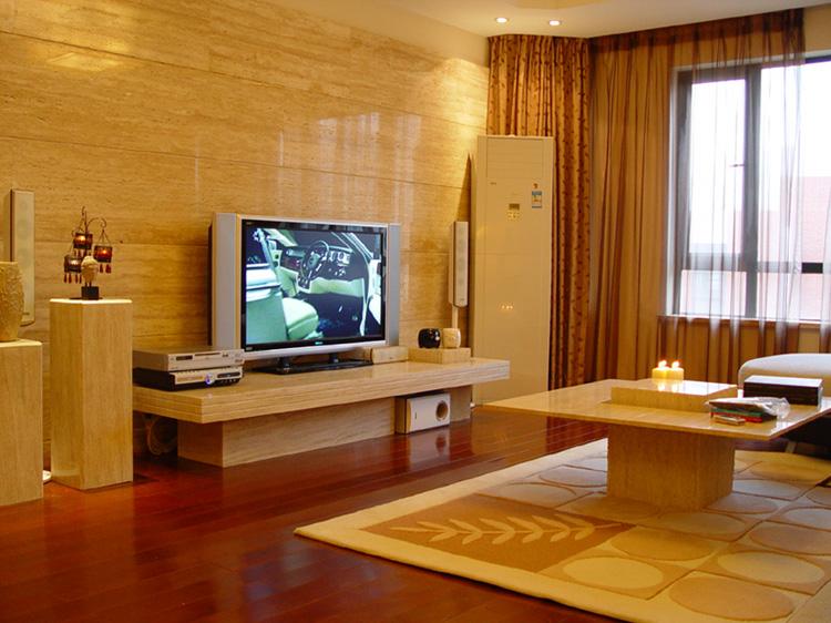 簡單客廳電視背景墻效果圖大全