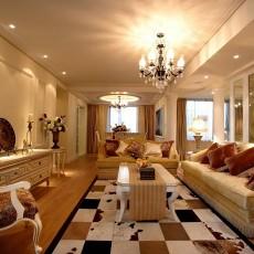 现代欧式风格客厅装修效果图大全