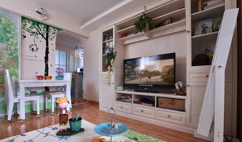 小户型电视柜装修效果图