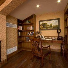 欧式古典风格书房装修图片