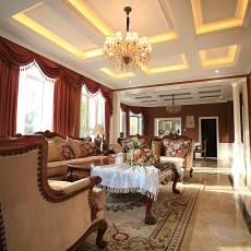129平米欧式别墅休闲区装修图片大全