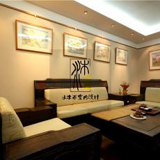 中式风格客厅装饰画图片