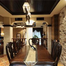 美式风格餐厅装饰
