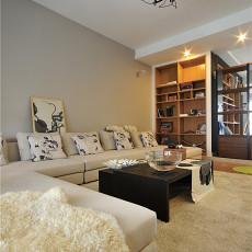 现代简约风格家装客厅效果图欣赏