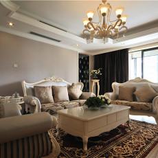 欧式风格家装客厅装修效果图