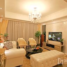 精美面积95平欧式三居客厅装饰图片欣赏