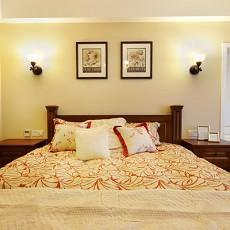 简美式卧室设计图