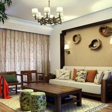 中式风格家装客厅装修效果图
