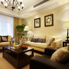 简约美式风格家装客厅装修效果图