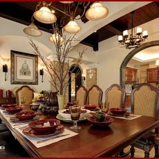 美式别墅餐厅装饰