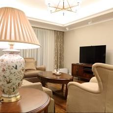 简美式风格客厅装饰