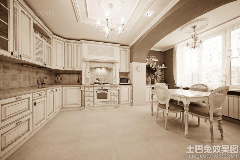 别墅大厨房装修