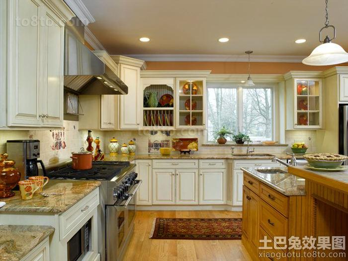 巴洛克风格厨房装修效果图