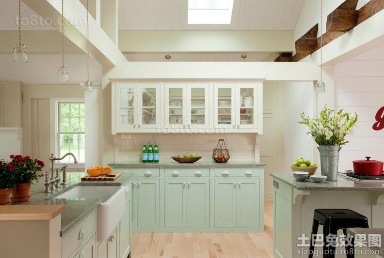 现代风格厨房装修效果图片欣赏