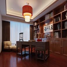 精选86平米简约小户型书房装修效果图片大全