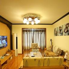 简中式家居客厅装修效果图