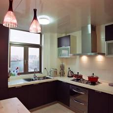 现代整体厨房装修图片