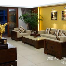 中式风格客厅家装设计效果图
