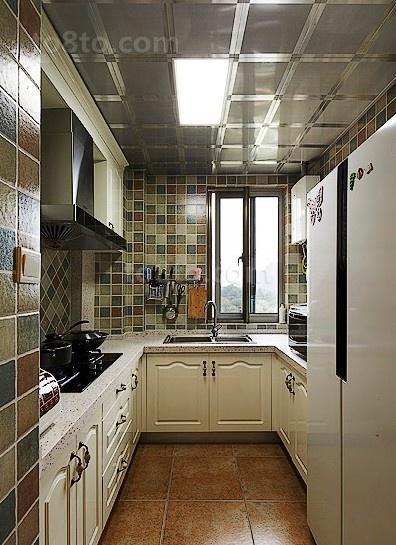 田园风格装修厨房设计
