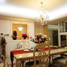 欧式风格家装餐厅装饰