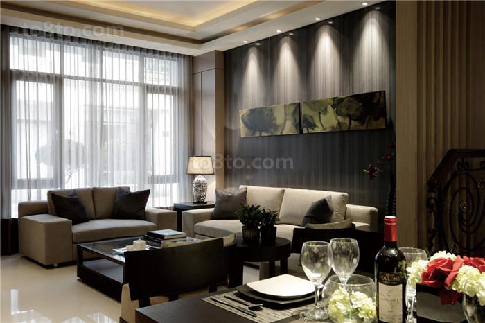 现代风格室内装修效果图大全图