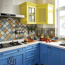 精选地中海风格厨房装修效果图欣赏