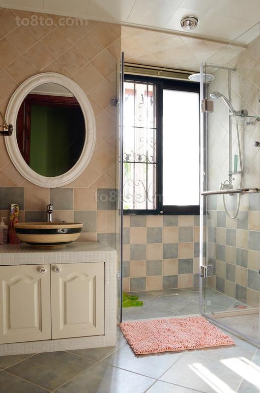 家装卫生间装修效果图大全2014图片