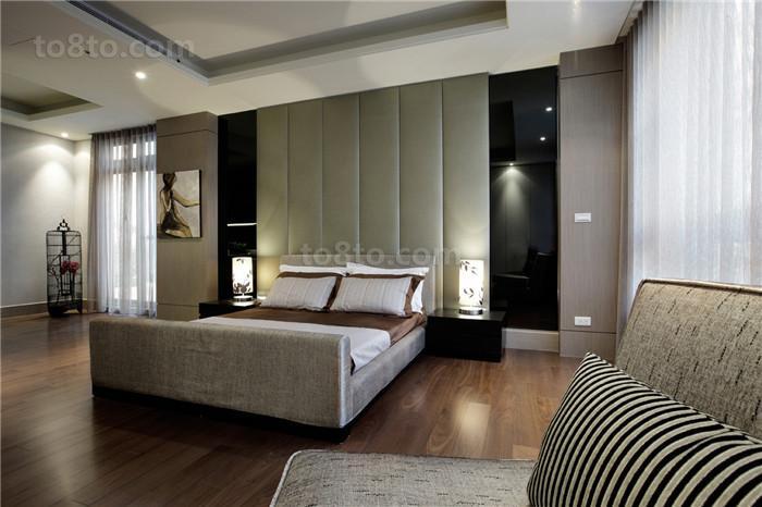 现代家装卧室设计效果图欣赏