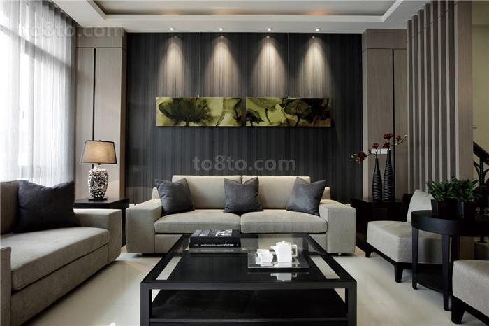 现代风格家装客厅装修效果图大全