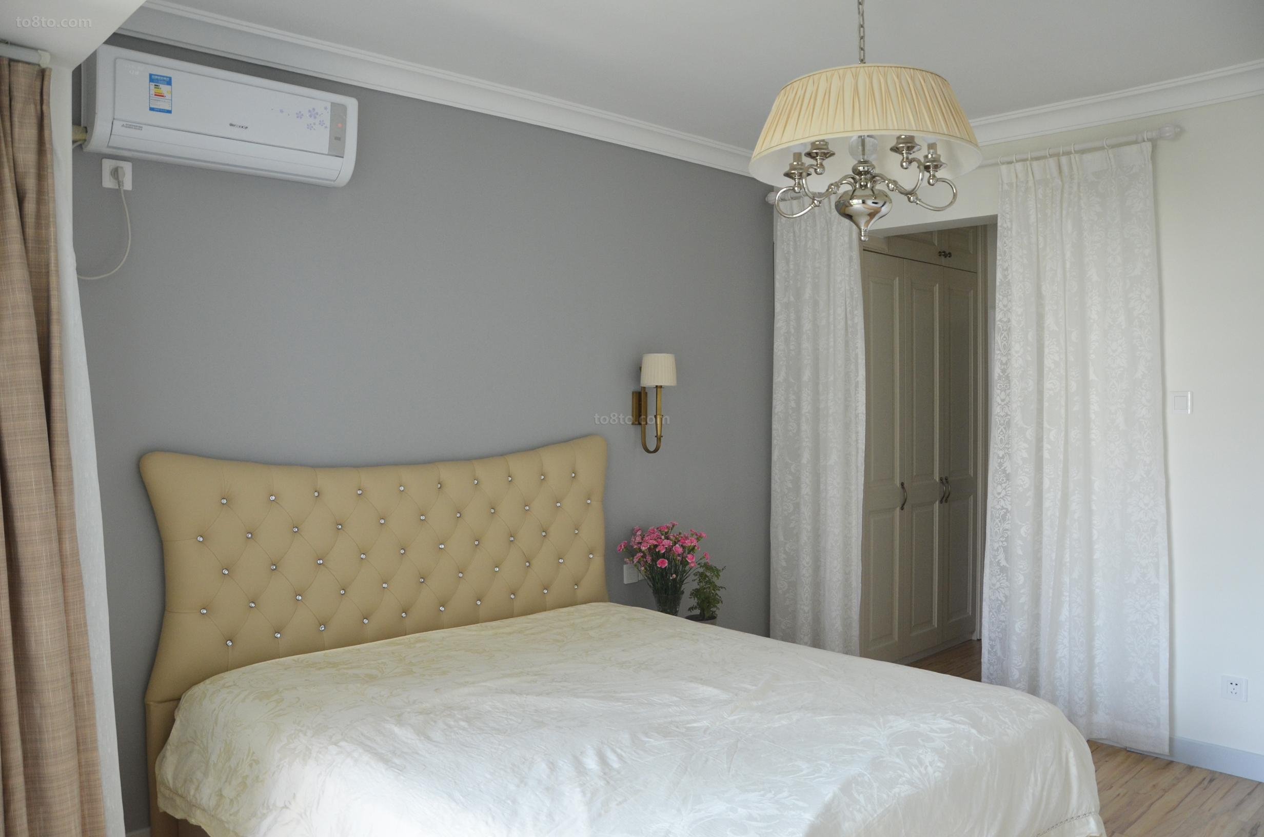 86平米现代小户型卧室实景图片大全
