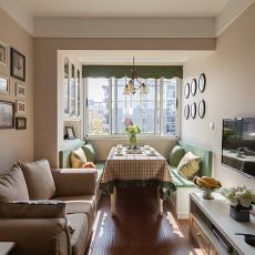 精美81平方二居客厅现代装修实景图片大全